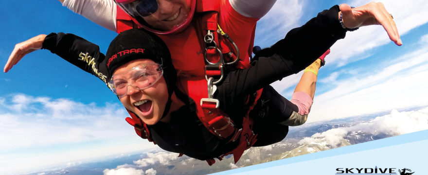 Vinn tandemhopp fra Skydive Voss